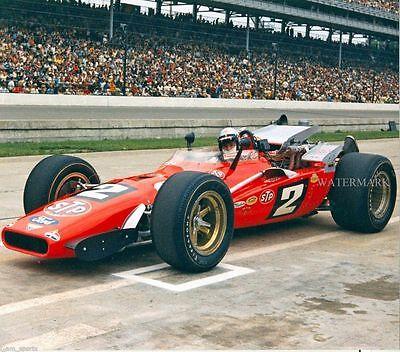 Mario Andretti 1969 Indianapolis Indy 500 Winner 8X10 Glossy Photo