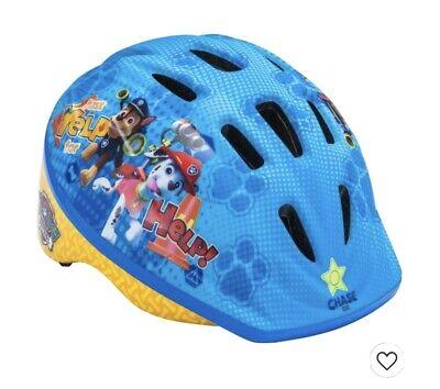 Nickelodeons PAW Patrol Toddler Bicycle Bike Helmet ~ Age 3-5 ~ Yellow/Blue NEW