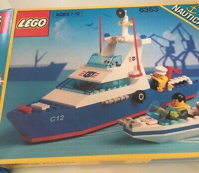 LEGO 6353 Costal Cutter w/ Box