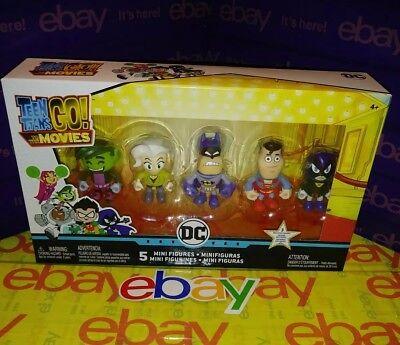 Teen Super Heros (Teen Titans Go Mini Figures Superheroes Collectibles BEAST BOY RAVEN)
