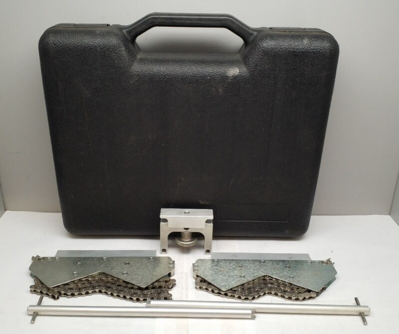 LUDECA PRUFTECHNIK COMPACT CHAIN BRACKETS SHAFT ALIGNMENT TOOL OPTALIGN ROTALIGN