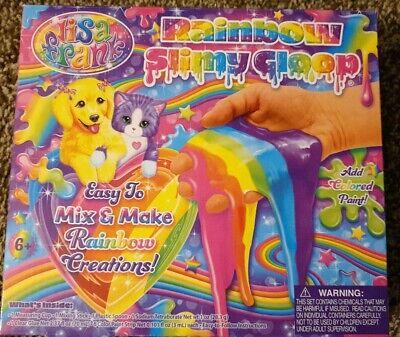 Rainbow Slimygloop Creations Slime Maker Kids Craft by Lisa Frank