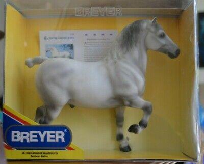 Breyer Collectible Model Horses Percheron Draft Horse Blackhome Grandeur Lyn NIB