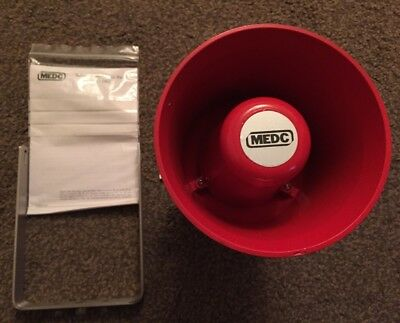 New Red Sirenmedc Ng16 63f Pinxton Uk Hazardous Location Siren 100 Volt 8 Watt