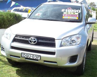 2009 Toyota RAV4 SUV Armidale Armidale City Preview