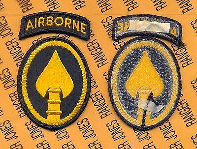 US Special Operations Command Airborne USSOCOM Dress uniform patch m/e