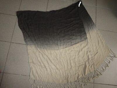 Seafolly Sarong braun beige Strandtuch Foulard Schal Hüfttuch Tuch für Bikini