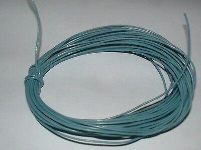 10m Coil Grey Ptfe Teflon Wire 0.34mm Csa 22awg Nexans Kz05-06 Cable