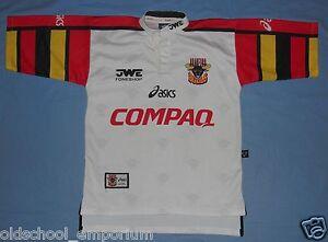 Bradford BULLS / 1998 Home - ASICS - vintage MENS rugby Shirt / Jersey. Size: S - Poland, Polska - Bradford BULLS / 1998 Home - ASICS - vintage MENS rugby Shirt / Jersey. Size: S - Poland, Polska