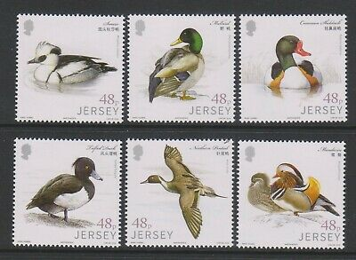 Jersey - 2016 ,Links With China,Aves Acuáticas,Patos,Juego - MNH - Sg 2095/100 image