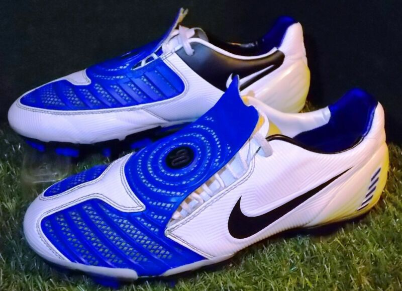 Nike Total 90 Laser II - Blue/White