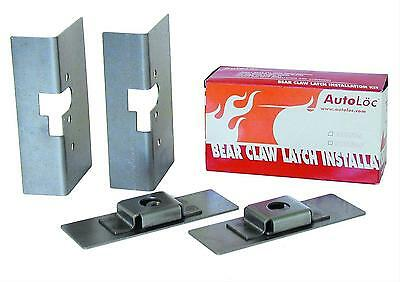 - AUTOLOC Small BEAR CLAW DOOR LATCH INSTALL KIT BCINST-S street rat rod custom
