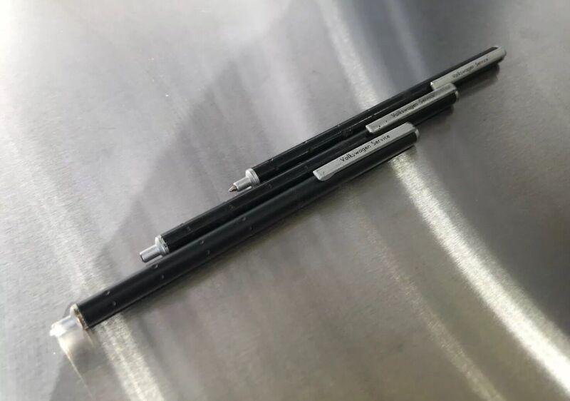 Volkswagen Service VW Collectible Metal Pens 3 Vw Dealer