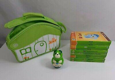 LeapFrog lot of 12 TAG JUNIOR Hardcover Board Books Case Dog Reader Education