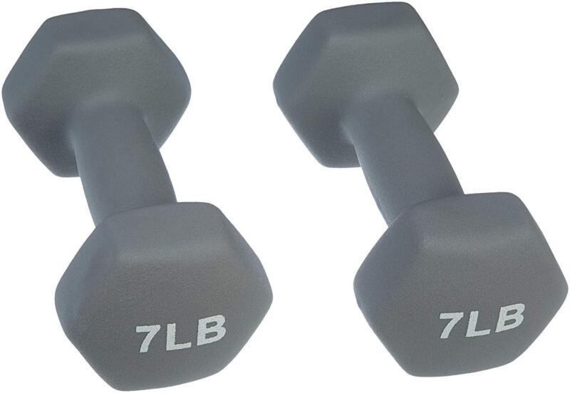Neoprene Weighted Dumbbells Set Fitness Health Exercise Gym