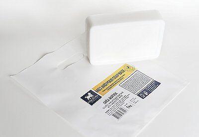 Sheabutter Seifenbasis Rohseife schmelzen und gießen Seifen 1 kg (SLS-frei)