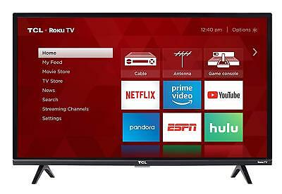 "TCL - 32"" Class - LED - 3-Series - 1080p - Smart - HDTV Roku"