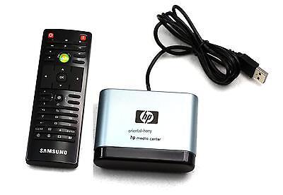 Genuine HP USB Microsoft MCE Media center SAMSUNG Remote Control RC6 Kit