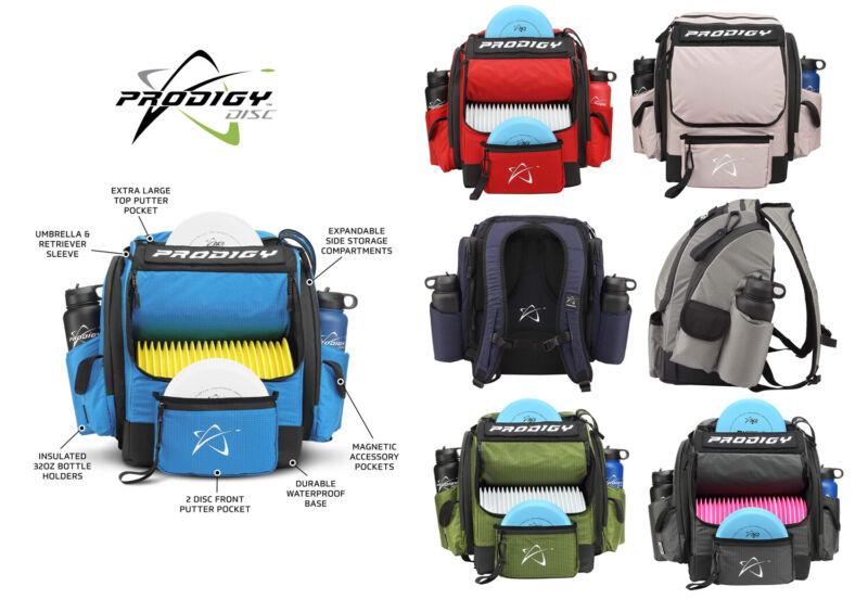 Prodigy Disc Golf Bag BP-1 V3 Backpack (Choose Color) Holds up to 24 Discs