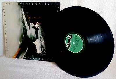 BOOMTOWN RATS 1977 Bob Geldof Band Aid VINYL RECORD ALBUM ENVY1 9102 800 -