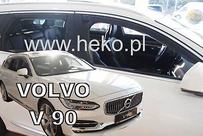 VOLVO V90  5DOOR 2016 -up  WIND DEFLECTORS 4pc HEKO TINTED