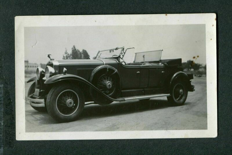 Vintage Car Photo New 1928 Cadillac Special Phaeton Convertible 405144