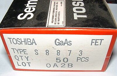 Toshiba S8873 Low Leakage Gaas-fet Gasfet Gas-fet Gaasfet Microwave Transistor