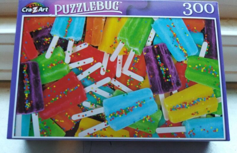 New 300 Piece Jigsaw Puzzle (Summer Popsicles) Puzzlebug