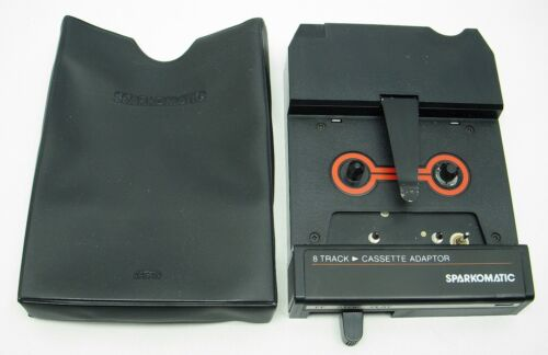 SPARKOMATIC 8 TRACK to CASSETTE ADAPTER - MODEL SCA-10