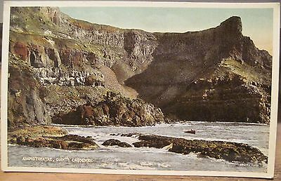 Irish Postcard Giants Causeway Amphitheatre Northern Ireland Val Carbo Colour