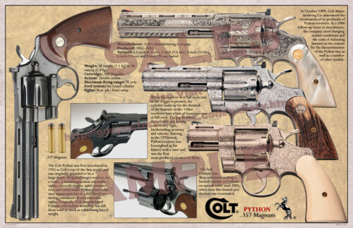 Colt Python .357Magnum Poster 11 x 17