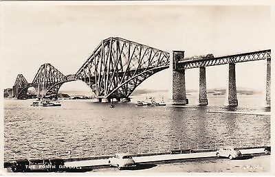 Forth Bridge From Esplanade & Cars, SOUTH QUEENSFERRY, West Lothian RP