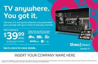 Become a Shaw Direct Satellite TV Dealer!