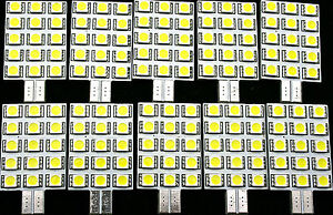 10x JAYCO LED T10 INTERIOR WEDGE LIGHT BULB rv leds caravan 4x4 camping 12v