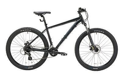 "Carrera Vengeance Mens Mountain Bike 2020 27.5"" Wheel 16 Gears - Black"