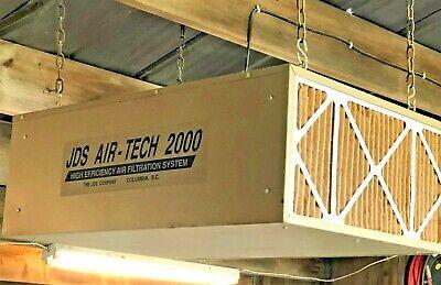 Jds Airtech 2000 Air Filtration Model 750 Dust Collection