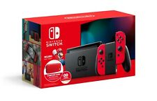 NEW Nintendo Switch Bundle with Red Joy-Cons, Carrying Case & $20 eShop Credit