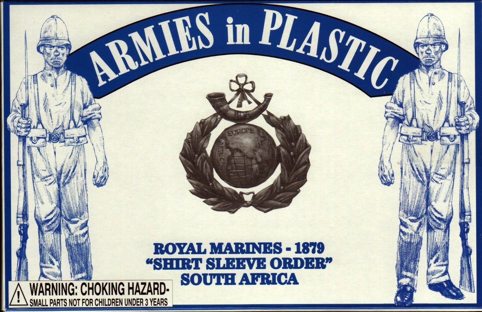 Armies in Plastic South Africa 1879 Royal Marines Shirt Sleeve 1/32 Scale 54mm