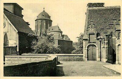 Mooie oude postkaart van Mechelen, zicht op O.L.V. van Hanswijckkerk.(PK3661)
