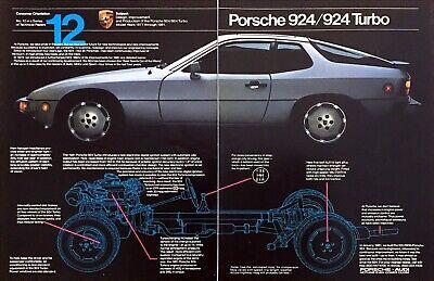 1981 Porsche 924 Turbo Coupe photo Chosen World's Best Sports Car 2page print
