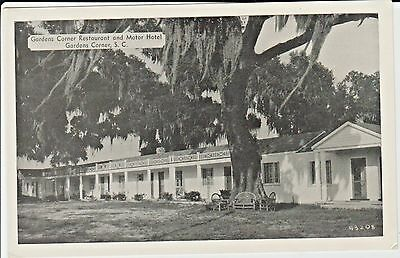 1940's Gardens Corner Restaurant & Hotel in Gardens Corner, South Carolina PC