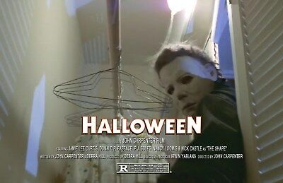 Halloween UNSIGNED 11x17 PHOTO #8 Michael Myers John Carpenter Jamie Lee Curtis