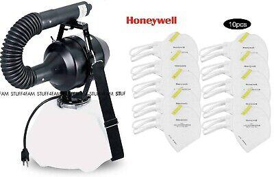 Hudson ULV Sanitizer Fogger USA Brand w/ 90 Day Warranty BONUS 10 GENUINE Masks