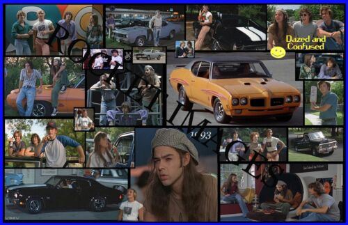 Dazed And Confused 1993!!! Custom Movie Poster 11x17 Buy 2 Posters Get 3rd FREE!