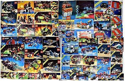 Vintage LEGO Sets Space Castle M:Tron Blacktron Bulk Figs Mix Lot Collection 80s