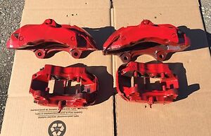 Brembo calipers front and rear fits many Audi and Porsche cars.