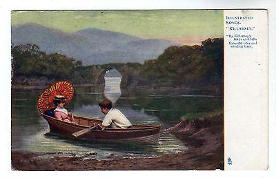 Killarney - Tuck Oilette Art Postcard 1904
