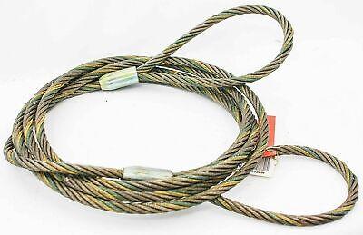 Liftall 34ieex20 Eye And Eye Wire Rope Sling 34 X 20 6 X 19 Imp