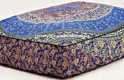 Indian Dog Bed Mandala Cotton Ottoman Pets Bed Cat Pad Throw Bed Cover & Insert