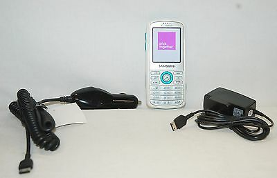 Samsung Gravity T Mobile Slider Cell Phone White Qwerty Keyboard Camera Sgh T459